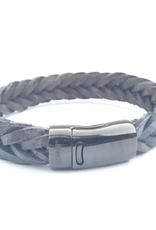 Thomss Thomss - Leren armband - Bruin - TZ25
