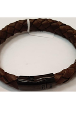 Thomss Thomss - Leren armband - Bruin - TZ27