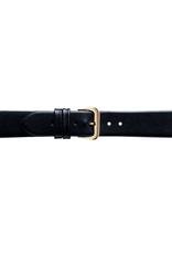 Condor horloge band - Leer - Zwart - 081R.01.xx