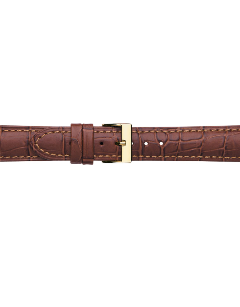 Condor horloge band - Leer - Bruin - 614R.02.xx