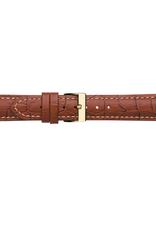Condor horloge band - Leer - Bruin - 614.03.xx