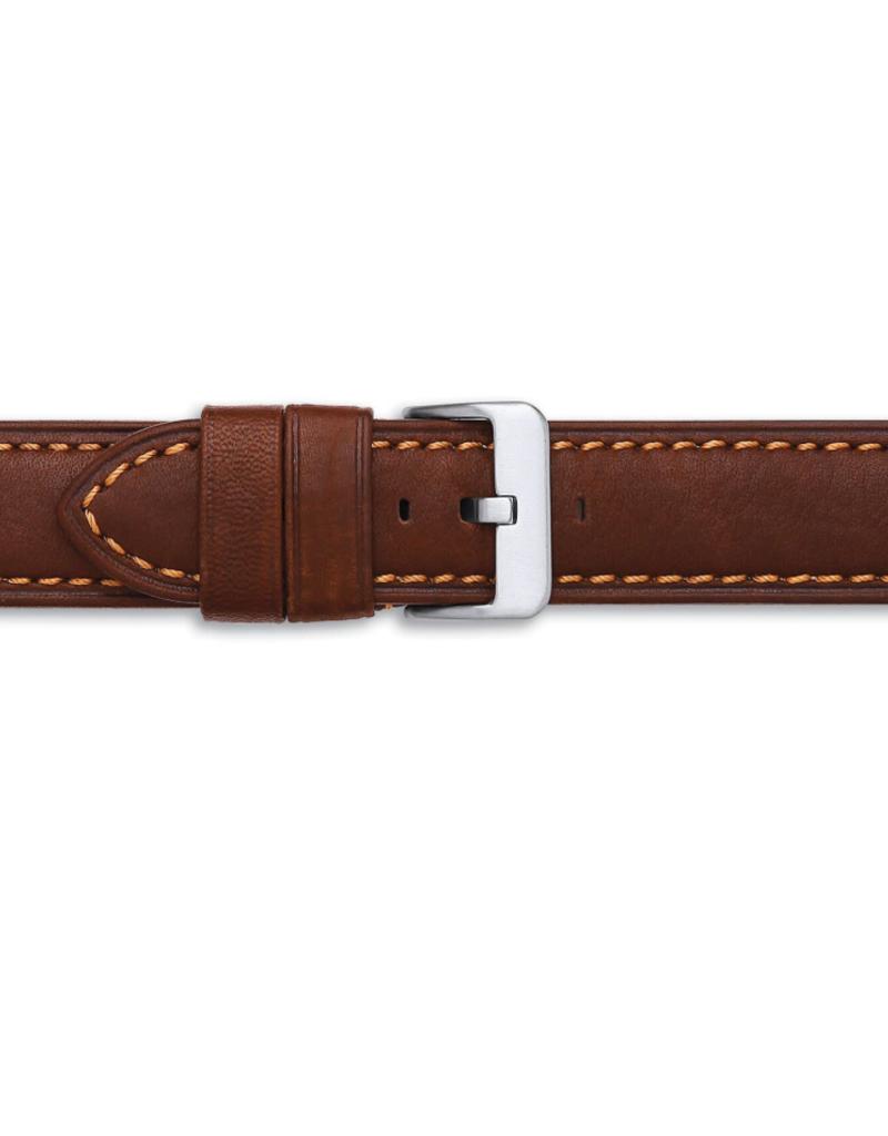 Condor horloge band - Leer - Bruin - 329R.02.xx