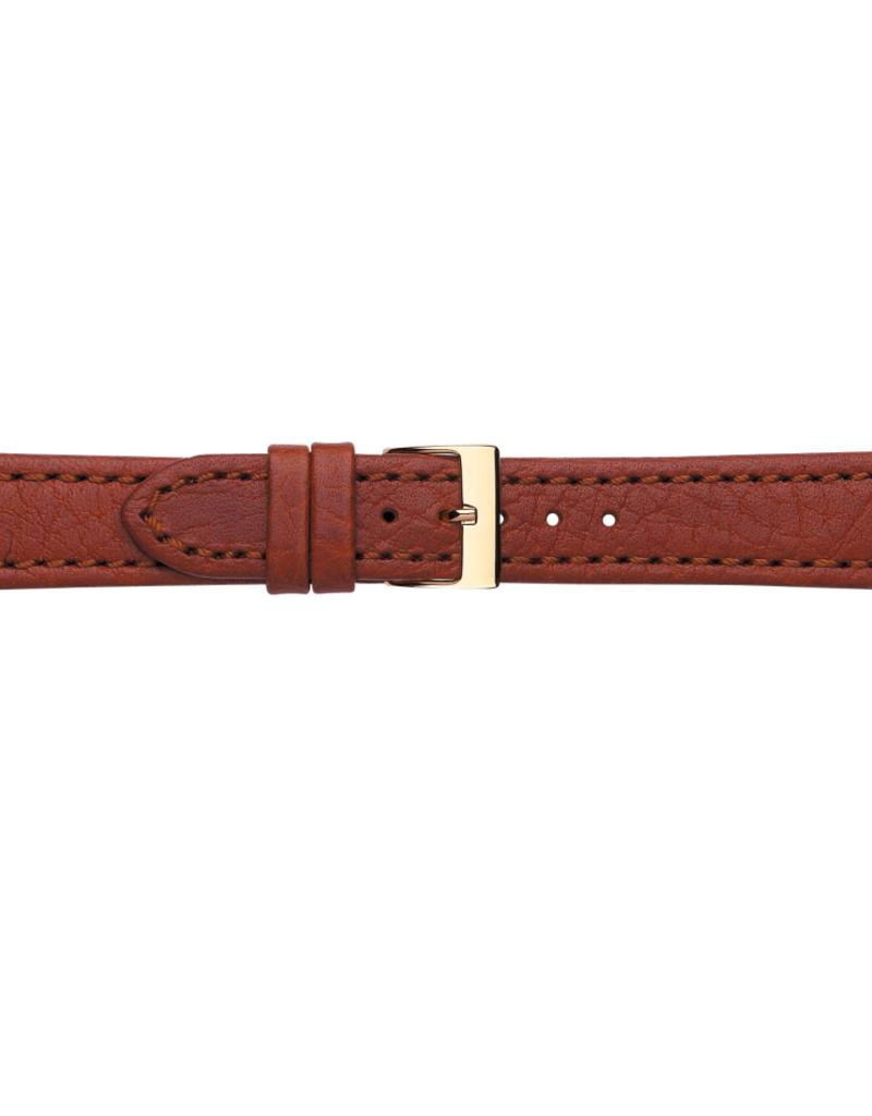 Condor horloge band - Leer - Bruin - 609R.08.xx