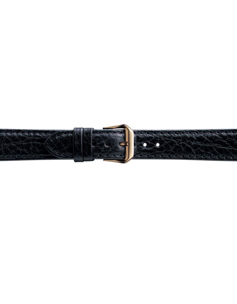Condor horloge band - Leer - Zwart - 051L.01.xx