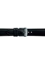 Condor horloge band - Leer - Zwart - 283R.01.xx