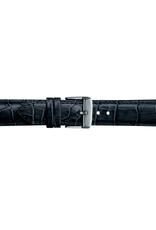 Condor horloge band - Leer - Zwart - 285R.01.xx