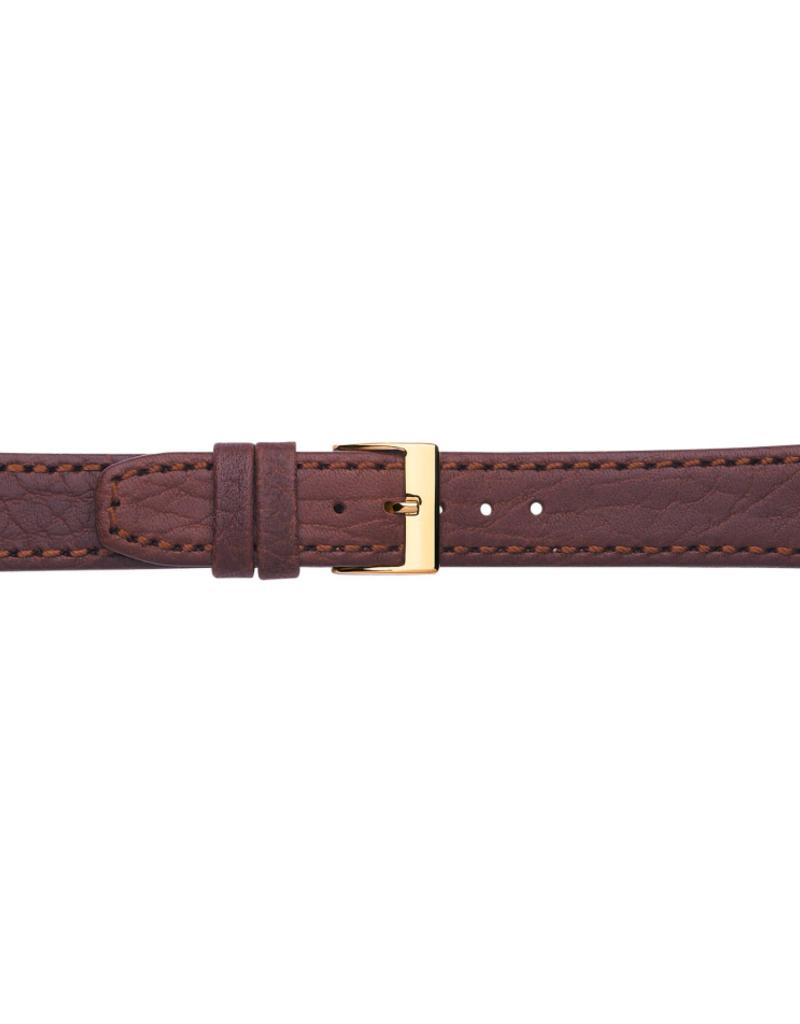 Condor horloge band - Leer - Bruin - 623R.02.xx
