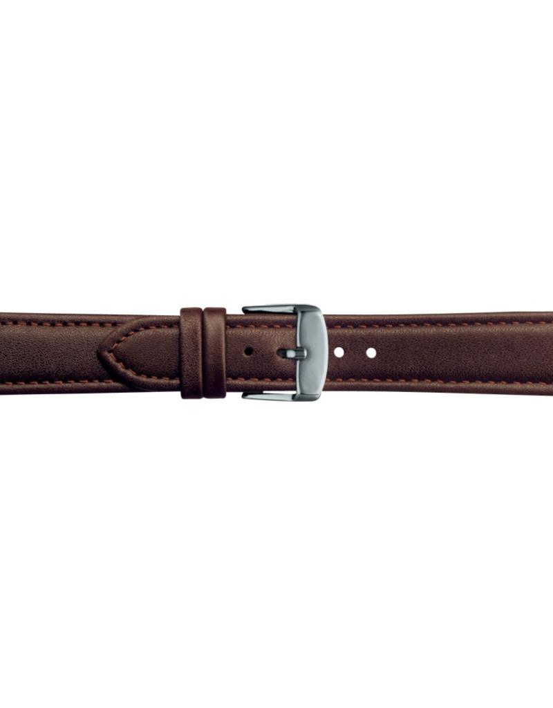 Condor horloge band - Leer - Bruin - 283R.02.xx