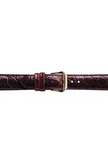 Condor horloge band - Leer - Bruin - 119L.02.xx