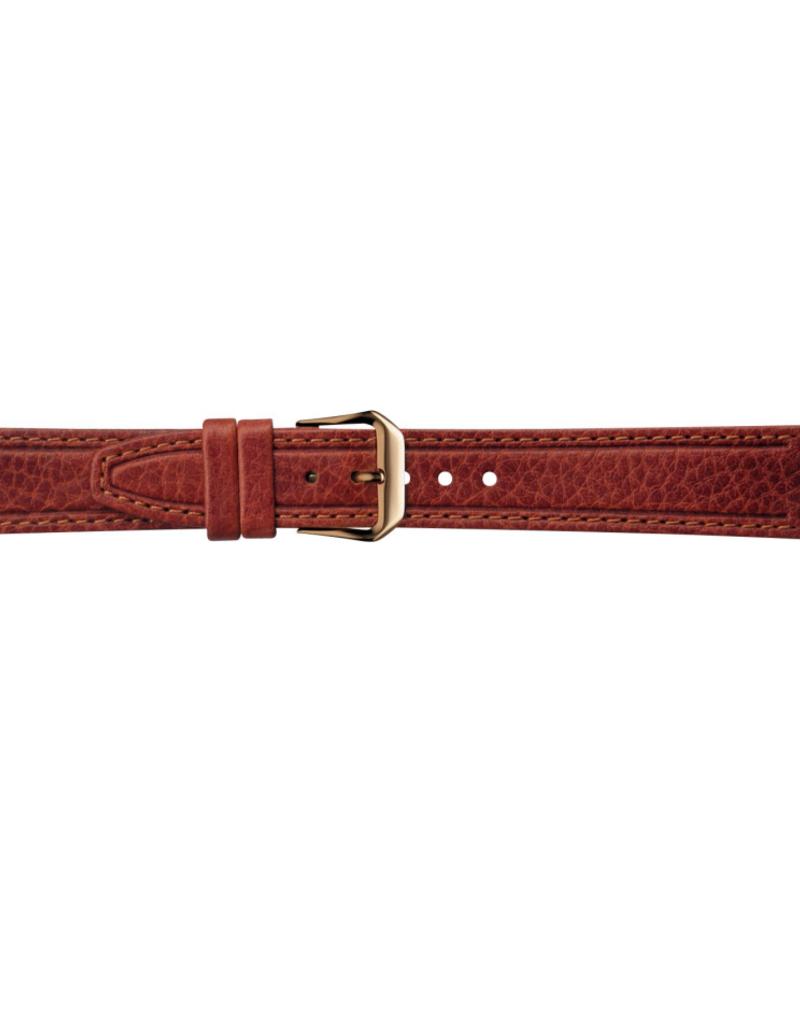 Condor horloge band - Leer - Bruin - 068R.02.xx