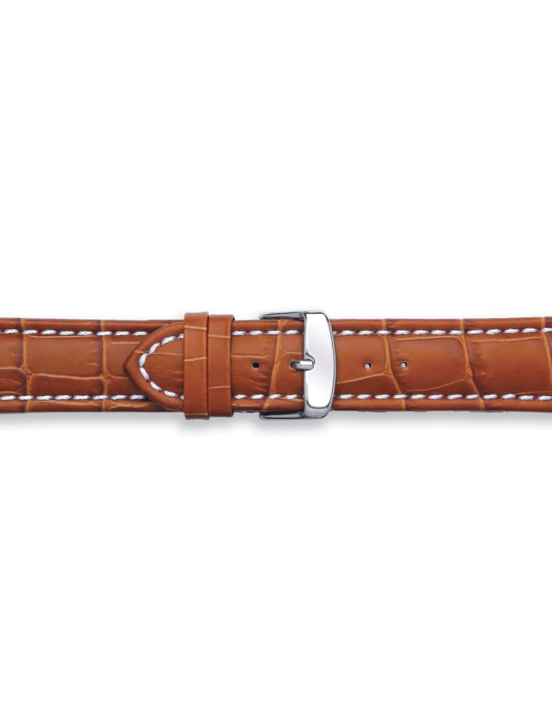 Condor horloge band - Leer - Bruin - 337R.03.xx