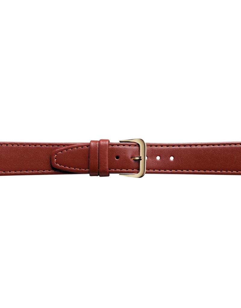 Condor horloge band - Leer - Bruin - 124L.08.xx