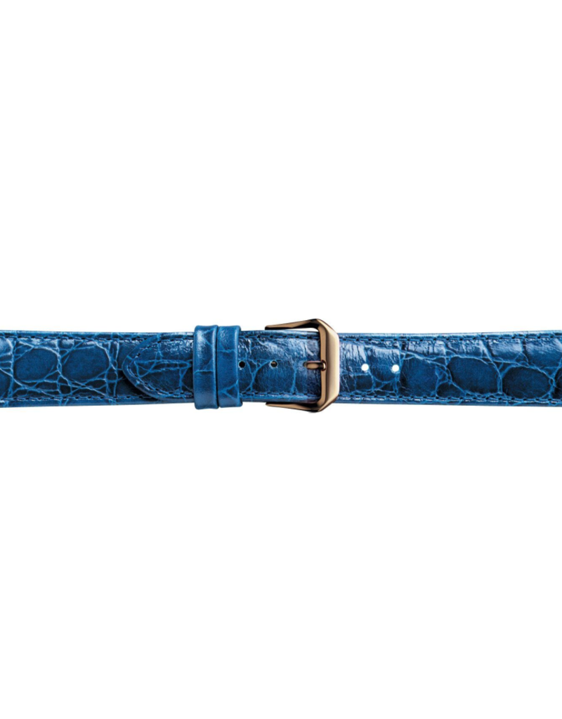 Condor horloge band - Leer - Blauw - 119R.05.xx