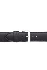 Condor horloge band - Leer - Zwart - 306R.01.xx