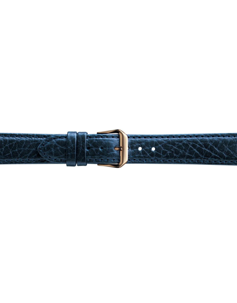 Condor horloge band - Leer - Blauw - 051R.05.xx