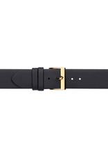 Condor horloge band - Leer - Zwart - 605.01.xx