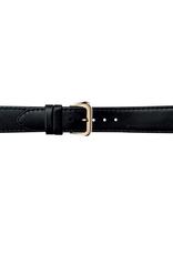 Condor horloge band - Leer - Zwart - 123L.01.xx