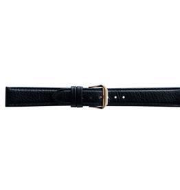 Condor horloge band - Leer - Zwart - 054R.01.xx