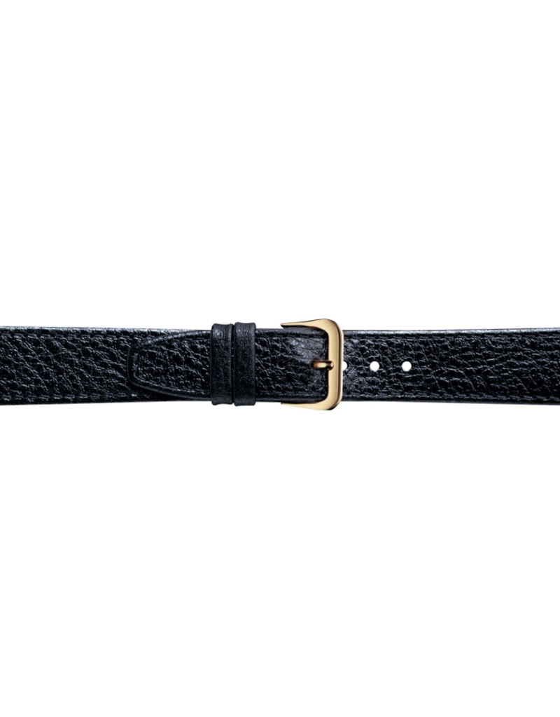 Condor horloge band - Leer - Zwart - 086R.01.xx