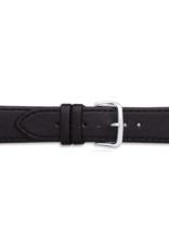 Condor horloge band - Leer - Zwart - 340R.01.xx