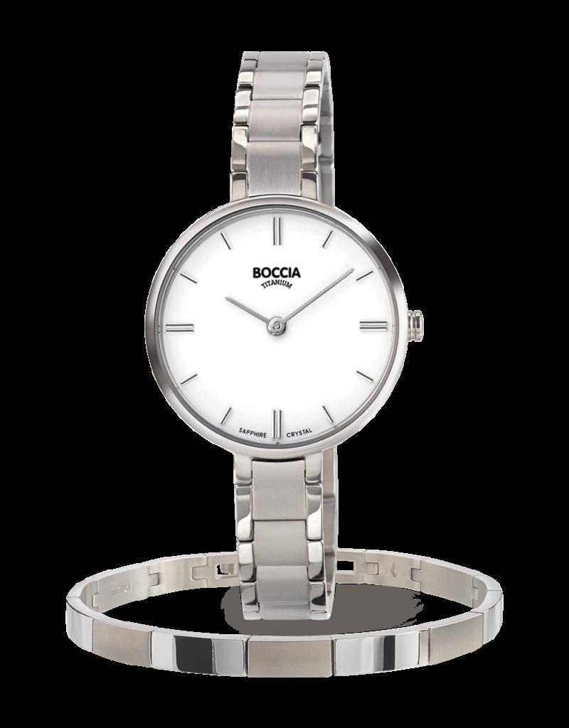 Boccia Boccia - Horloge - 3286-03 + GRATIS ARMBAND