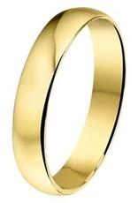 Amorio Relatiering - Goud - 14 karaats - A404 - Zonder steen - 4.0 mm
