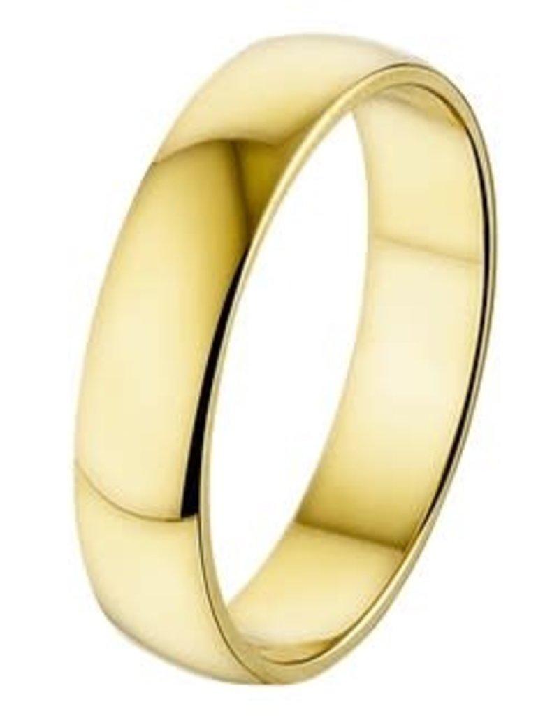 Amorio Relatiering - Goud - 14 karaats - A413 - Zonder steen - 5.0 mm