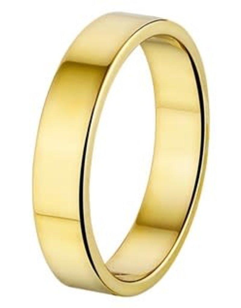 Amorio Relatiering - Goud - 14 karaats - A415 - Zonder steen - 4.0 mm