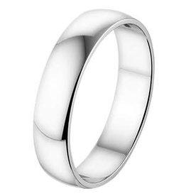 Amorio Relatiering - Wit-Goud - 14 karaats - A414 - Zonder steen - 5.0 mm
