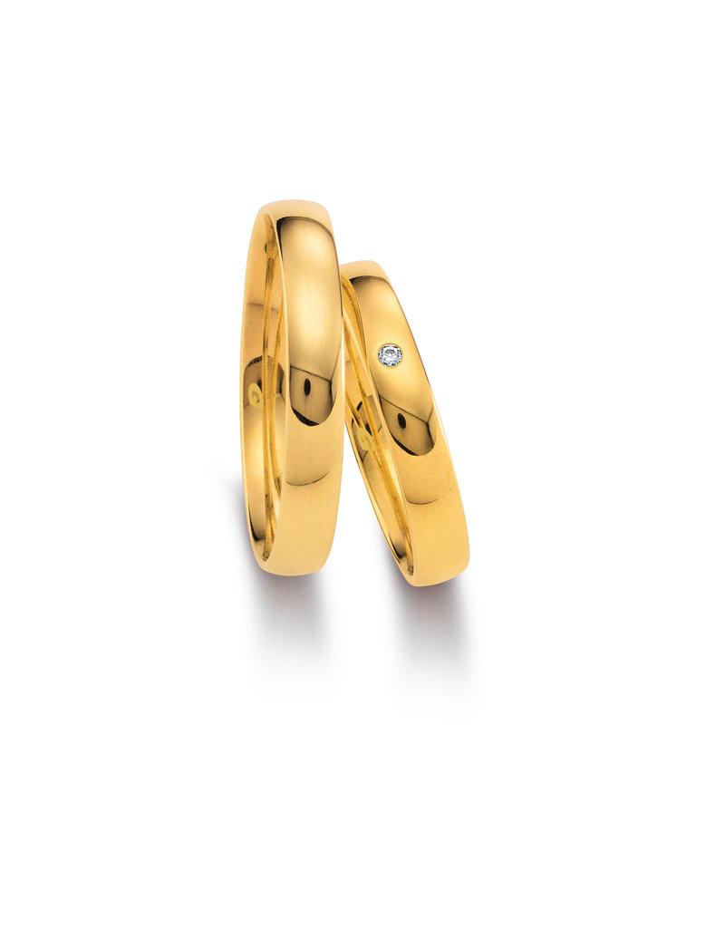 Gettmann Trouwringen - Geel goud - 1102,35 mm - 1 briljant = 0.015 ct