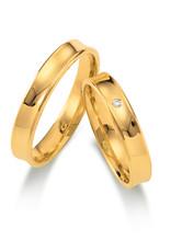 Gettmann Trouwringen - Geel goud - 1104,40 mm - 1 briljant = 0.01 ct
