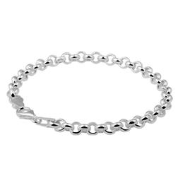 Zilveren armband - Jasseron - 19 cm