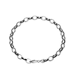 Zilveren armband - Jasseron - kind 16 cm