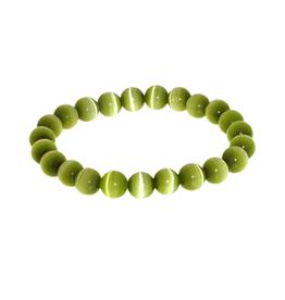 Armband kattenoog groen