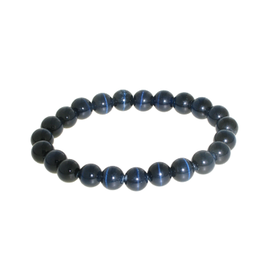 Armband kattenoog zwart