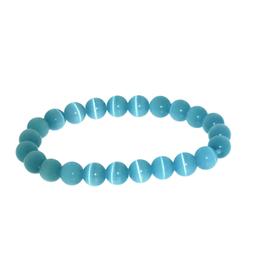 Armband kattenoog zee blauw