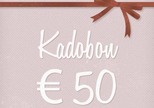 Kadobon 50 euro
