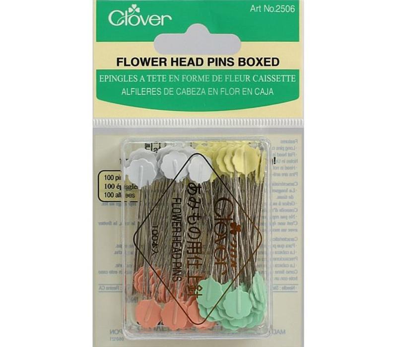 Flower Head Pins Clover