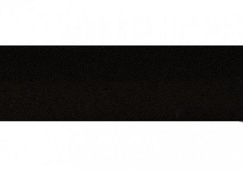 De Stoffenkamer Biaisband zwart