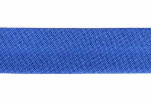 De Stoffenkamer Biaisband korenbloemblauw