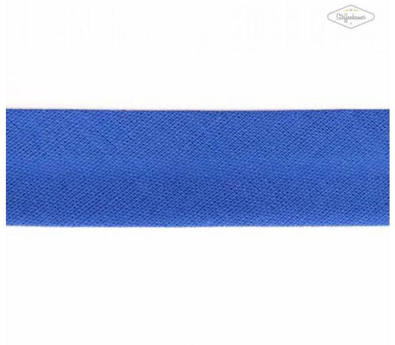 Biaisband korenbloemblauw