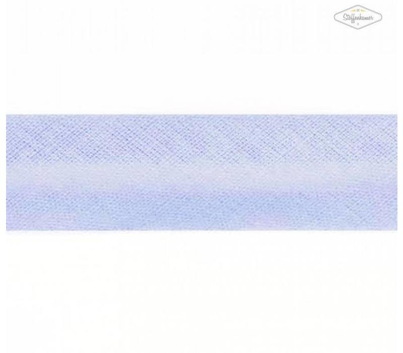 Biaisband lichtblauw