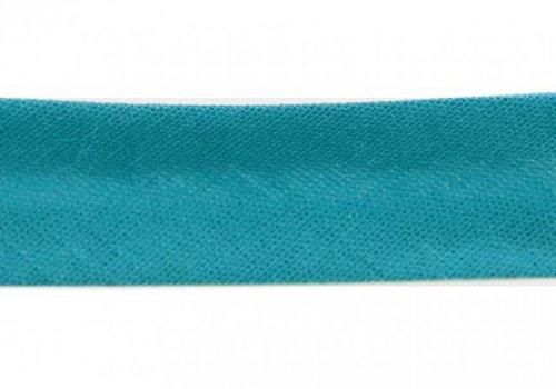 De Stoffenkamer Biaisband turquoise