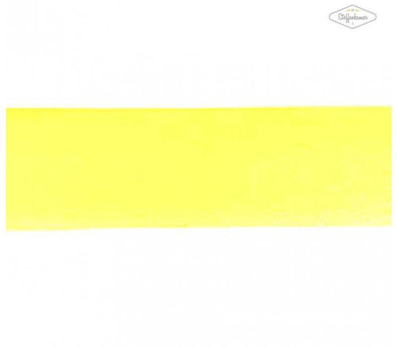 Biaisband fluo geel