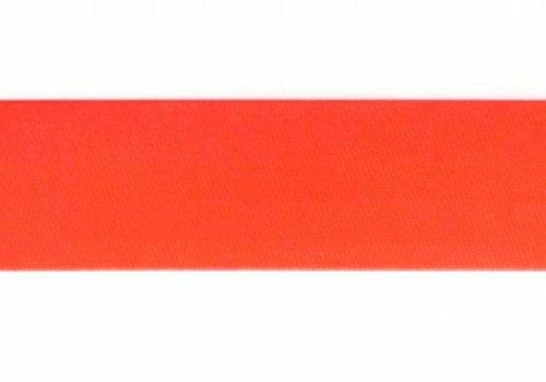 De Stoffenkamer Biaisband fluo oranje