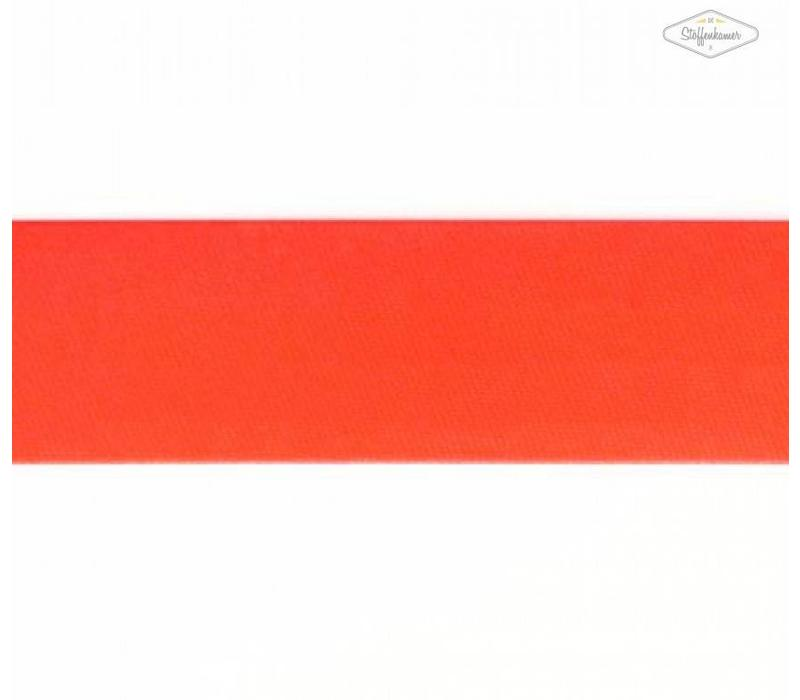 Biaisband fluo oranje