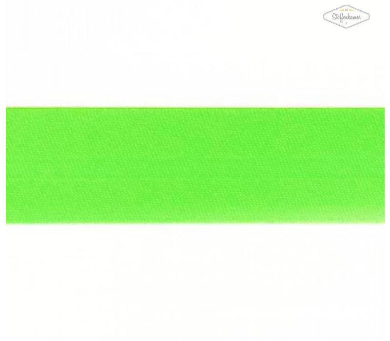 Biaisband fluo groen