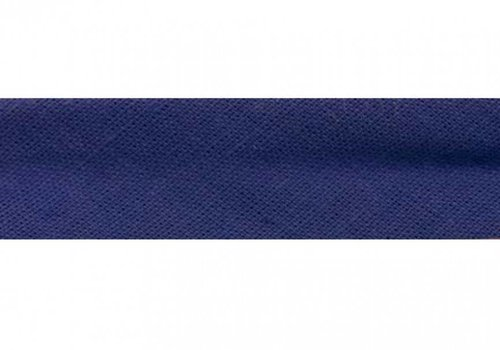 De Stoffenkamer Biaisband koningsblauw