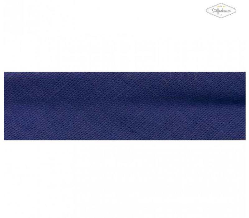 Biaisband koningsblauw