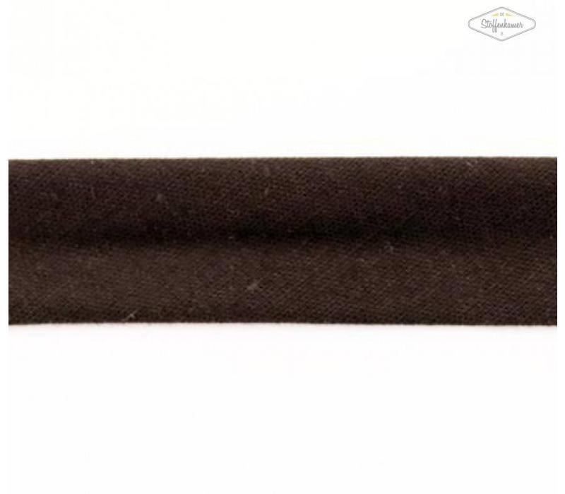 Biaisband zwartbruin
